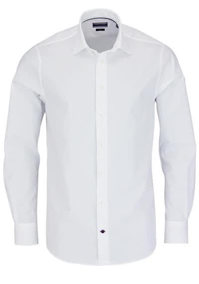 TOMMY TAILORED Hemd extra langer Arm Popeline weiß AL 70 - Hemden Meister