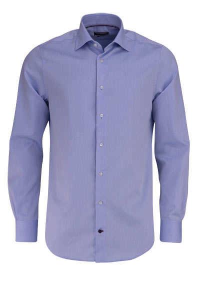 TOMMY TAILORED Regular Fit Hemd Langarm New Kent Kragen Popeline hellblau - Hemden Meister