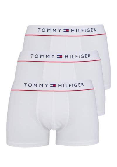 TOMMY HILFIGER Pants Baumwollmischung 3er Pack weiß - Hemden Meister