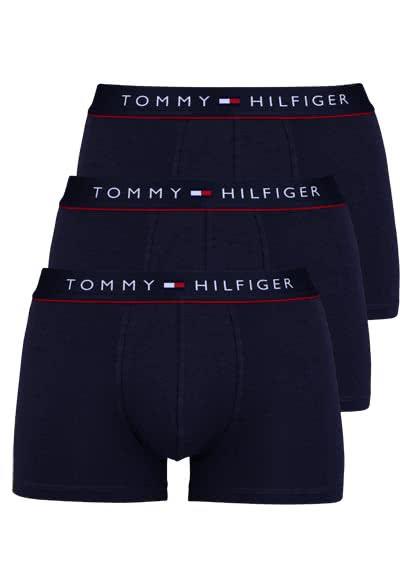 TOMMY HILFIGER Pants Baumwollmischung 3er Pack nachtblau - Hemden Meister