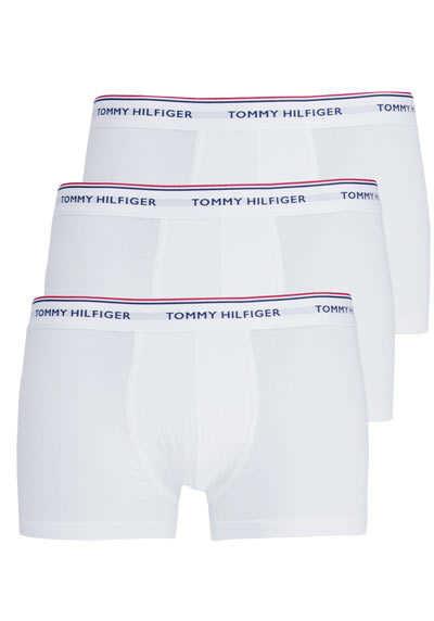 TOMMY HILFIGER Pants mit Logo-Aufschrift Stretch 3er Pack weiß - Hemden Meister