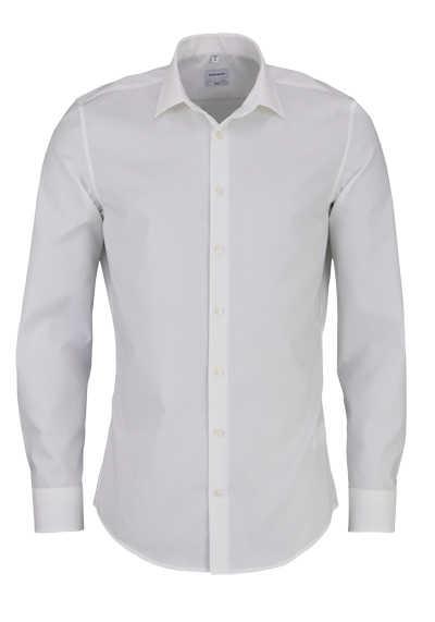 SEIDENSTICKER Slim Hemd Langarm New Kent Kragen Stretch beige - Hemden Meister