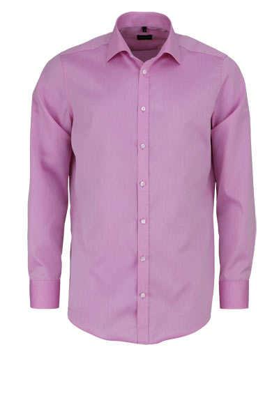 VENTI Modern Fit Hemd Langarm Haifisch Kragen Feintwill rosa - Hemden Meister