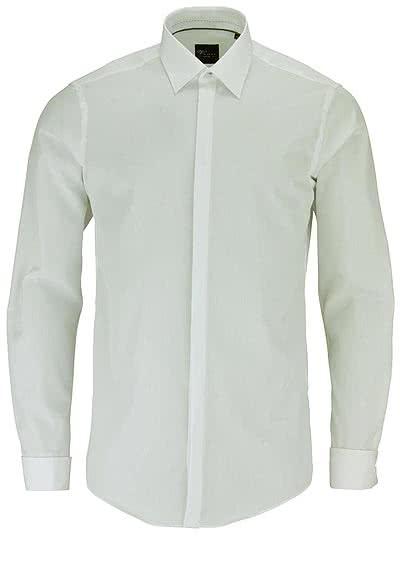 VENTI Modern Fit Galahemd Langarm Umschlagmanschette beige - Hemden Meister