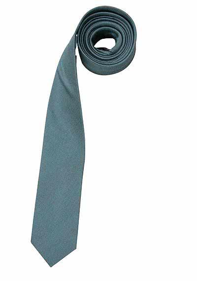 VENTI Seidenkrawatte 6,0 cm breit fleckenabweisend moos - Hemden Meister