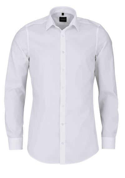 VENTI Body Fit Hemd super langer Arm Natrual Stretch beige - Hemden Meister