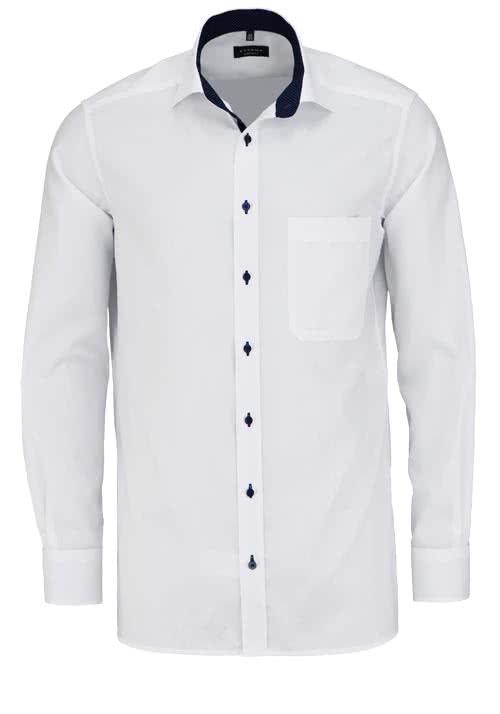ETERNA Comfort Fit Hemd extra kurzer Arm Oxford weiß