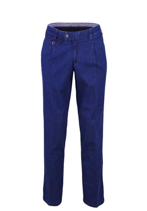 EUREX by BRAX Straight Jeans FRED 321 5 Pocket mittelblau
