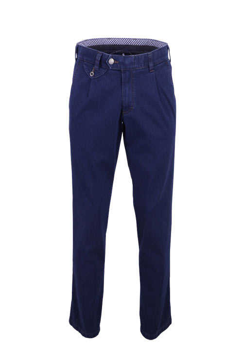 EUREX by BRAX Straight Jeans FRED 321 5 Pocket dunkelblau