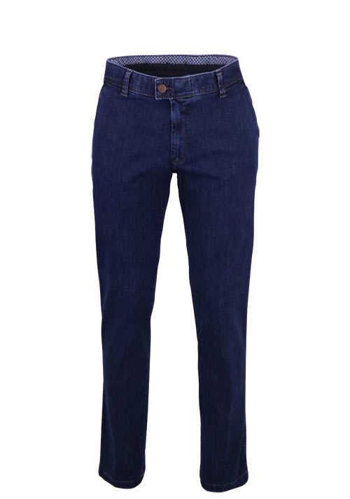 EUREX by BRAX Straight Jeans JIM 316 5 Pocket Stretch nachtblau