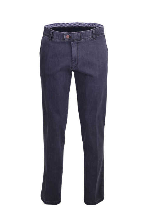EUREX by Brax Straight Jeans JIM 316 5 Pocket Stretch grau
