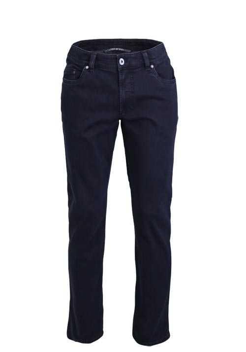 EUREX by BRAX Comfort Fit Jeans LUKE Used 5 Pocket nachtblau