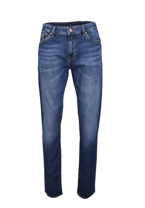 BOSS Regular Fit Jeans MAINE3 Stretch rauchblau