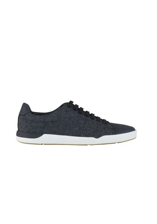 Image For BOSS ORANGE Sneaker STILLNESS_TENN Struktur schwarz