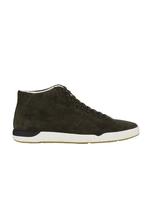 Image For BOSS ORANGE Sneaker STILLNESS weiße Sohle graubraun