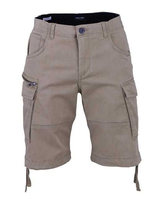 JACK&JONES Comfort Fit Shorts KELP 5 Pocket  beige