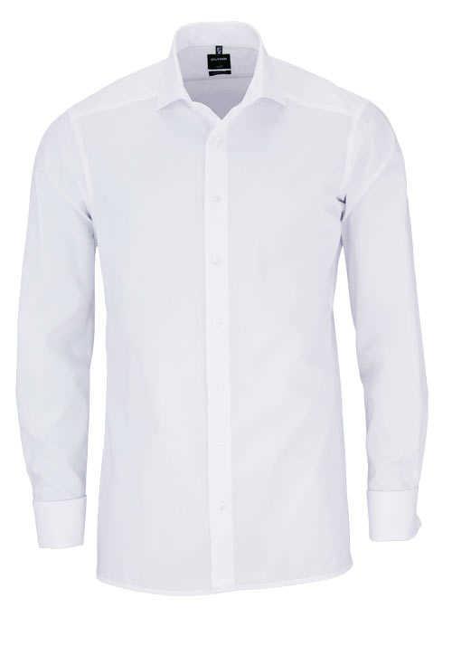 OLYMP Luxor modern fit Hemd extra langer Arm weiß