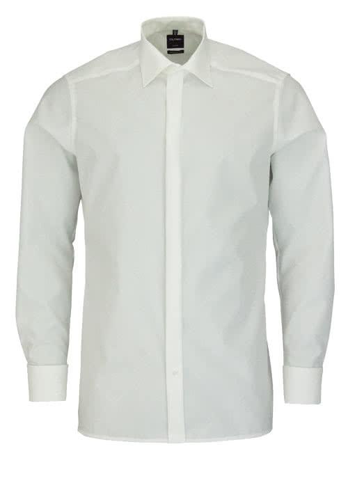 OLYMP Luxor modern fit Hemd extra langer Arm beige