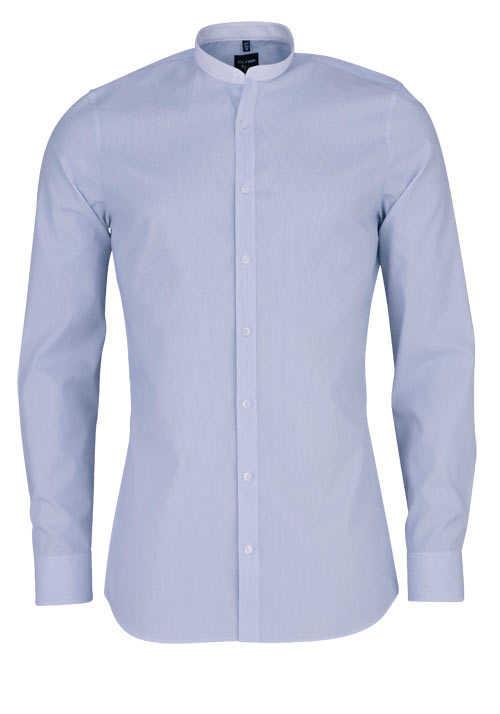 verschiedenes Design verkauft ungleich in der Leistung OLYMP No. Six super slim Hemd Langarm Stehkragen Streifen blau