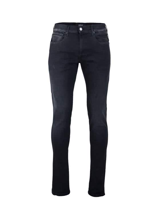 REPLAY Jeans GROVER Hyperflex Used anthrazit