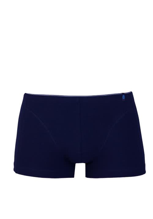 SCHIESSER 95/5 Shorts mit innenliegendem Bund nachtblau